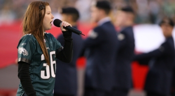 Sing Your Way onto the Eagles' Field