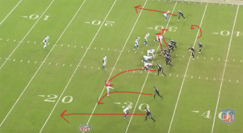 How the Eagles' Screen Game Got Cooking Against Redskins