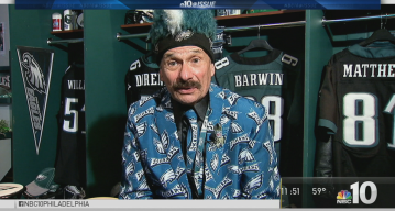 NBC10 @Issue: Eagles Superfan