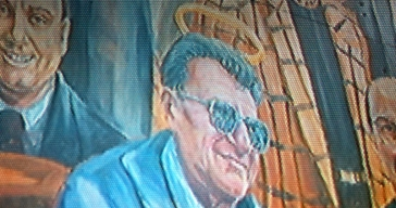Artist Restores Joe Paterno's Halo on PSU Mural