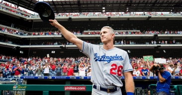Behind-the-scenes Look at Chase Utley's Last Games in Philadelphia