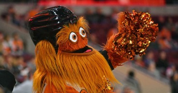 Gritty for Sheriff? Yes, Flyers Mascot Received Write-in Votes in Tuesday's Election