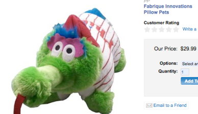 Phanatic Pillow Pet Is Here to Terrorize Your Kids to Sleep