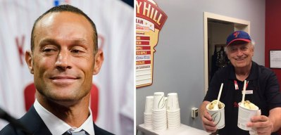 Gabe Kapler Enjoyed Ice Cream in Truly Bizarre Fashion