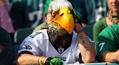 Eagles Fans Are Bluest Birds: Study