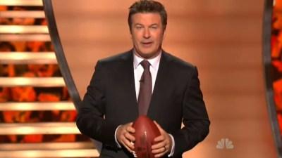 "Baldwin Makes Fun of Eagles' Bad ""Dream"""