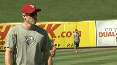 Utley Plays for IronPigs