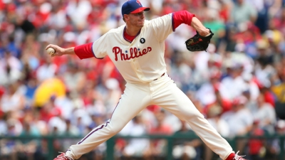 Halladay Downs Padres