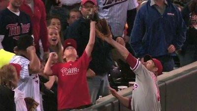 Young Phillies Fan Robs Phils in Minny