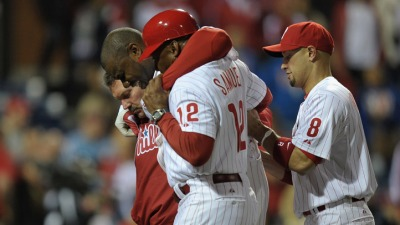 2012 Phillies Injury Report