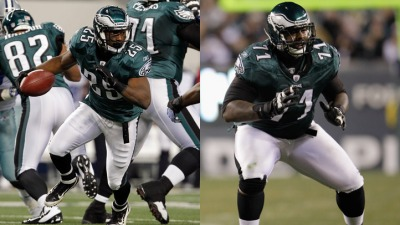 Shady, Peters Named 1st Team All-Pro