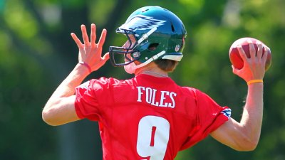 Eagles Need a Backup Plan Behind Vick