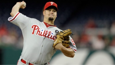 Blanton Pitches Back Into the Picture