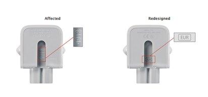 Apple Recalls AC Adapters Over Potential Shock Hazard