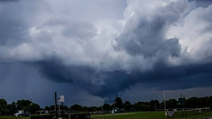 Severe Storms Bring Funnel Clouds, Leave Hail, Flooding