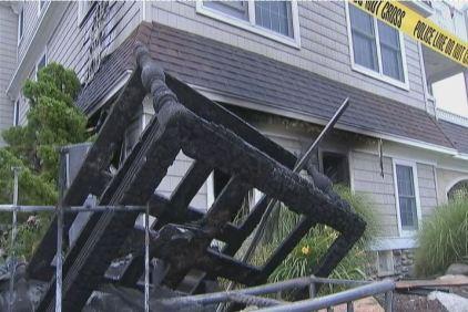 Beach House Fire Traps 7 People in OCNJ
