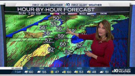 <p>Grab that umbrella when you head out Saturday afternoon and evening because there's rain on the way. NBC10 First Alert Weather Chief Meteorologist Tammie Souza has your most accurate forecast.</p>