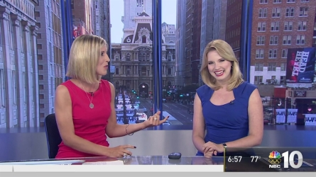 NBC10 reporter Rosemary Connors introduces us to Krystal Klei, she joins the First Alert Weather team as a meteorologist.
