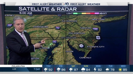 First Alert Neighborhood Weather meteorologist Bill Henley has no storms as of Thursday morning but we are preparing for some later.