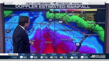 "NBC10 First Alert Weather Chief Meteorologist Glenn ""Hurricane"" Schwartz tells us we should keep our umbrellas close."