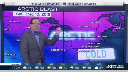 """NBC10's First Alert Weather chief meteorologist Glenn """"Hurricane"""" Schwartz tells us that we have cold temperatures in our future."""