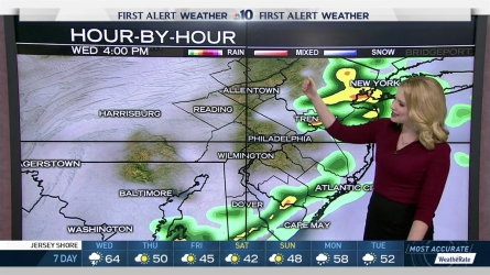 <p>NBC10 First Alert Weather meteorologist Krystal Klei has the details on warm weather and severe storms headed our way Wednesday afternoon.</p>