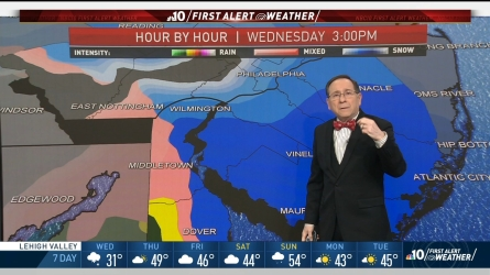 Nbc10 First Alert Weather Meteorologist Glenn Hurricane Schwartz Is Tracking When