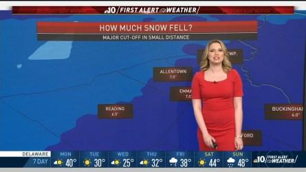 Philadelphia Weather Forecast Maps And Doppler Radar Nbc 10