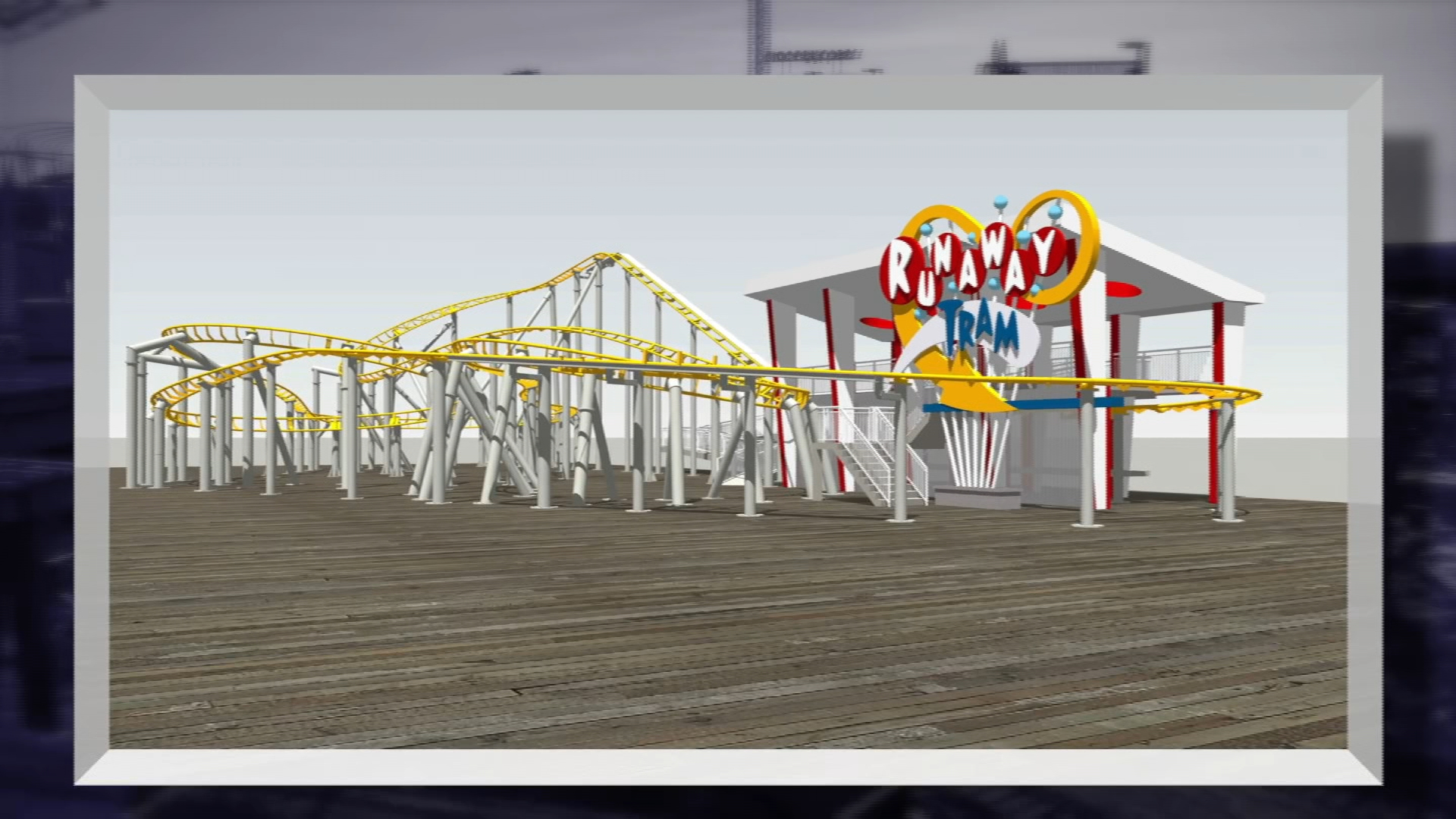 Morey's Piers to Pay Tribute to Sightseer Tram Cars