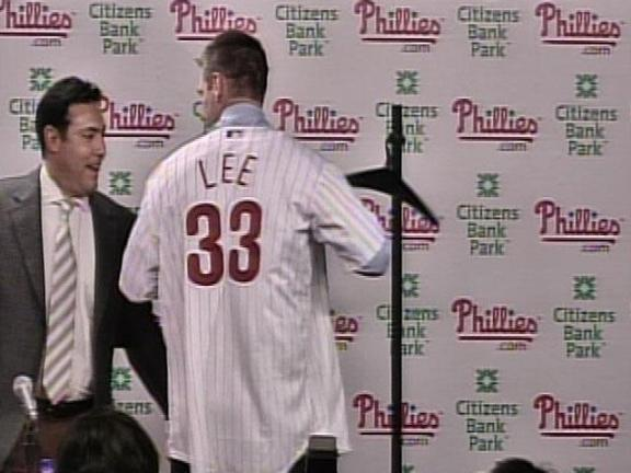 Campaigning for Cliff Lee