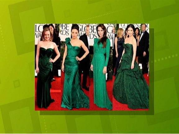 Golden Globe Fashions