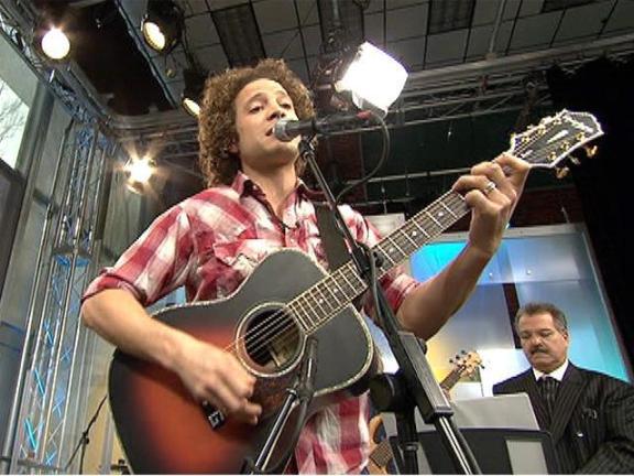 Justin Guarini on the 10! Show