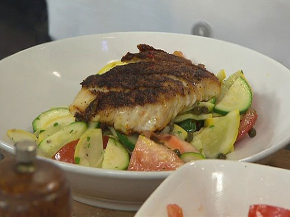 Achiote Rubbed Red Snapper