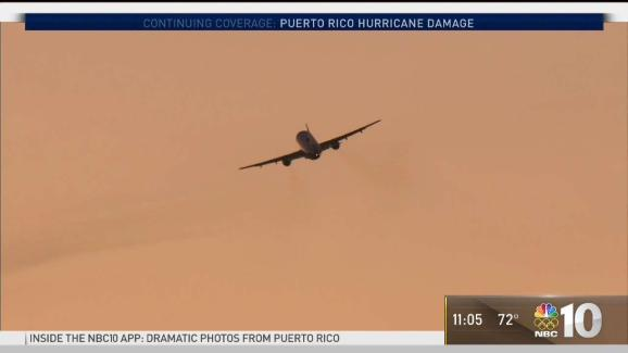 2 flights leave puerto rico for new york after maria nbc 10