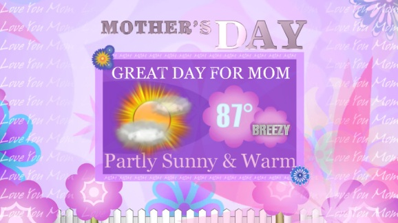 Mothers Day Forecast