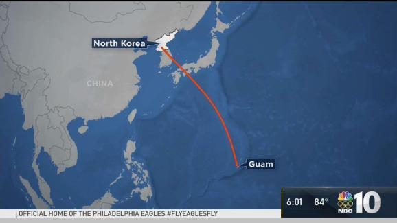 North korea threatens to target guam nbc 10 philadelphia sponsored gumiabroncs Gallery