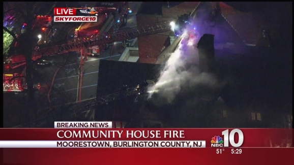 Breaking News Skyforce 10 Over Fire In South Jersey