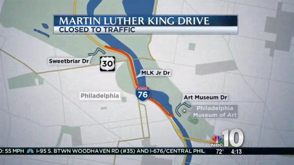 Closure On Martin Luther King Drive Nbc 10 Philadelphia