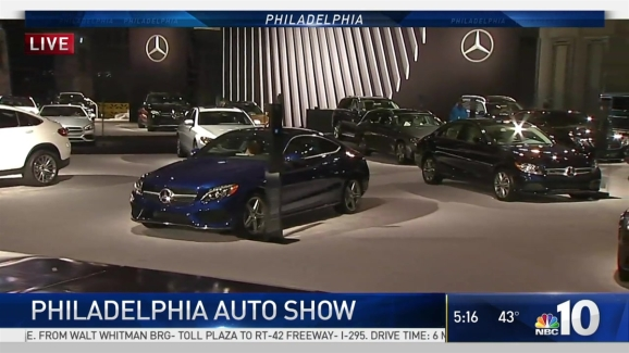 Philly Auto Show Roars Into Convention Center NBC Philadelphia - Philadelphia convention center car show