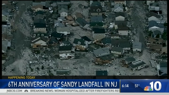 Remembering Superstorm Sandy 6 Years Later Nbc 10 Philadelphia