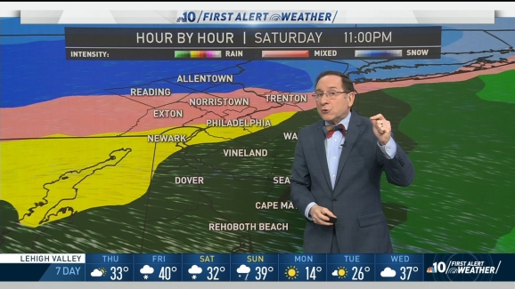 First Alert Weather: Snow, Ice, Heavy Rain and Dangerous Cold