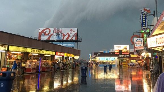 Severe Storm Damage In Wildwood New Jersey Nbc 10 Philadelphia