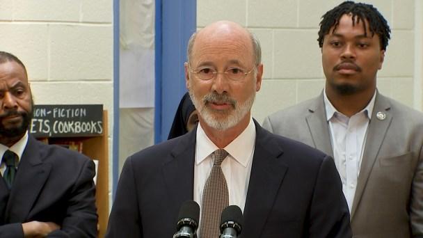 Gov. Tom Wolf Announces $4.3 Million Plan to Help Remove Lead From Philadelphia Schools