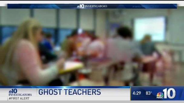 'Ghost' Teachers Not Showing Up to Class While Getting Paid