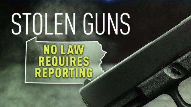 Stolen Guns, Stolen Lives: Why Doesn't PA Require Reporting of Stolen Guns?