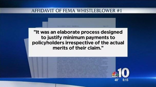 FEMA Whistleblowers Expose Sandy Isues