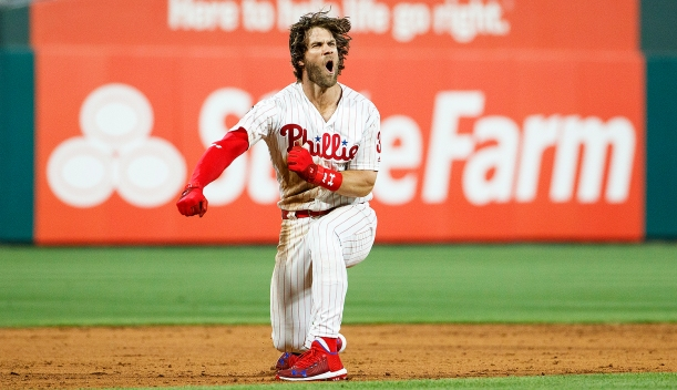 It Wasn't Just Him, But Bryce Was the Star for Phillies