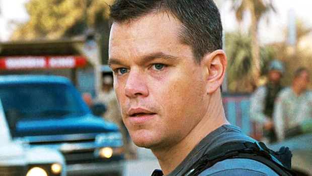 "Matt Damon Directing John Krasinski in ""Father Daughter Time"""