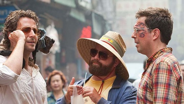 "Wolf Pack Allegedly Busting Alan Out of Looney Bin in ""Hangover III"""