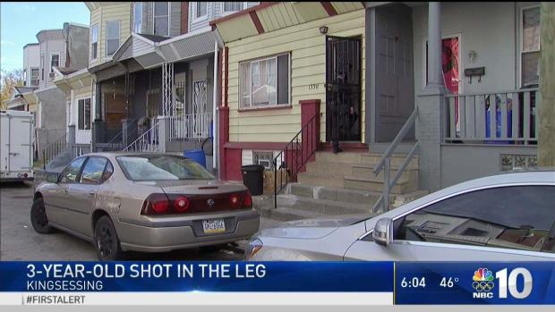 [PHI] 3-Year-Old Shot in Leg